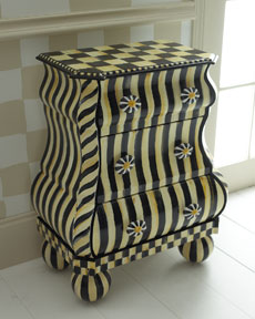 MacKenzie Childs Courlty Stripe Bombay